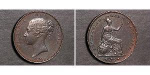 1 Пені Сполучене королівство Великобританії та Ірландії (1801-1922)  Вікторія (1819 - 1901)
