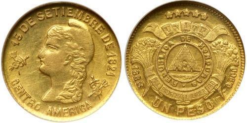 1 Песо Гондурас Золото