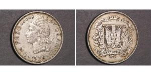 1 Песо Доминиканская Республика Серебро