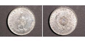 1 Песо Республика Парагвай (1811 - ) Серебро
