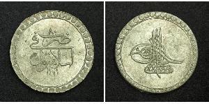 1 Пиастр Османская империя (1299-1923) Серебро Мустафа III (1757 - 1774)