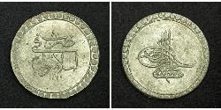 1 Піастр Османська імперія (1299-1923) Срібло Мустафа III (1757 - 1774)