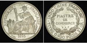 1 Піастр Французький Индокитай (1887-1954) Срібло