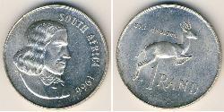 1 Ранд Южно-Африканская Республика Серебро