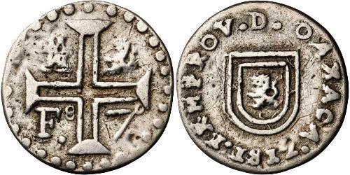 1 Реал Нова Іспанія (1519 - 1821) Срібло