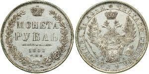 1 Рубль Російська імперія (1720-1917) Срібло Микола I (1796-1855)
