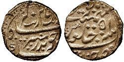 1 Рупія Британська Ост-Індська компанія (1757-1858) / Індія Срібло