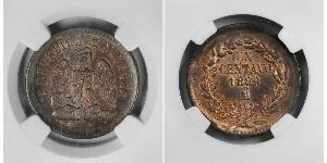 1 Сентаво Мексиканські Сполучені Штати (1867 - ) Мідь