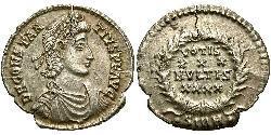 1 Силиква Римская империя (27BC-395) Серебро Констанций II (317 - 361)