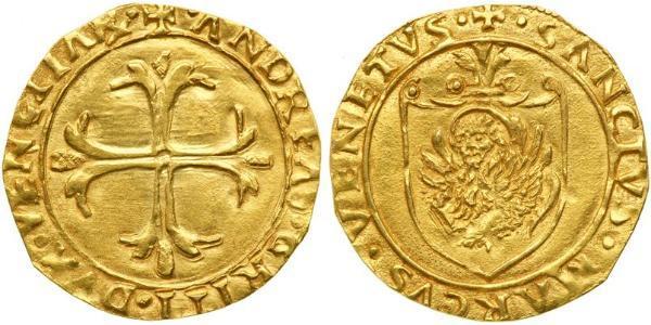 1 Скудо Италия Золото