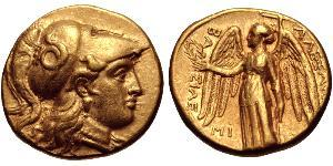 1 Статер Государство Селевкидов (312BC-63 BC) Золото Селевк I Никатор (358BC-281BC)