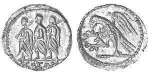 1 Статер Древняя Греция (1100BC-330) Золото