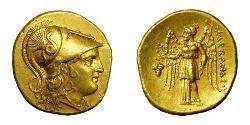 1 Статер Македонское  царство (800BC-146BC) Золото Александр Македонский (356BC-323BC)