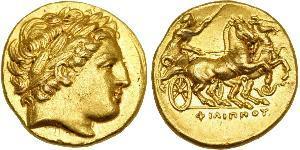 1 Статер Македонське царство (800BC-146BC) Золото Philip II of Macedon (382 BC - 336 BC)
