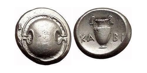 1 Статер Беотия Серебро