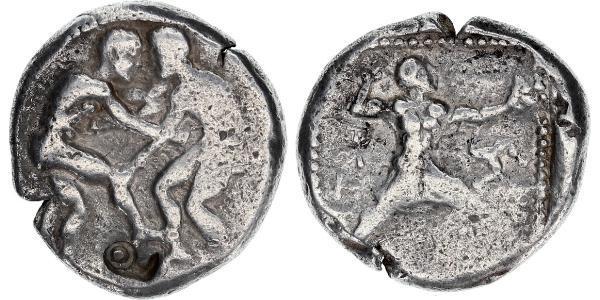 1 Статер Стародавня Греція (1100BC-330) Срібло