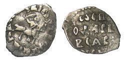1 Сheshuyka Großfürstentum Moskau (1263 — 1547) Silber Iwan III. (Russland)