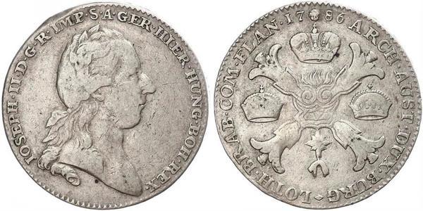 1 Талер Австрийская империя (1804-1867) Серебро