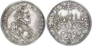 1 Талер Аугсбург (1276 - 1803) Серебро Ferdinand III, Holy Roman Emperor (1608-1657)