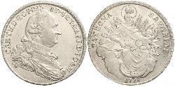 1 Талер Бавария (курфюршество) (1623 - 1806) Серебро Карл IV Теодор (1724 - 1799)