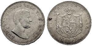 1 Талер Великое герцогство Гессен (1806 - 1918) Серебро Людвиг I Гессенский