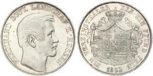 1 Талер Великое герцогство Гессен (1806 - 1918) Серебро Фердинанд (ландграф Гессен-Гомбурга)
