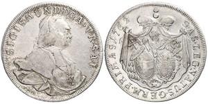 1 Талер Габсбургская империя (1526-1804) Серебро Sigismund von Schrattenbach