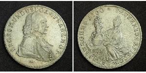 1 Талер Зальцбург Серебро Sigismund von Schrattenbach