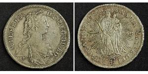 1 Талер Королевство Венгрия (1000-1918) Серебро Maria Theresa of Austria (1717 - 1780)