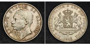 1 Талер Нассау (герцогство) (1806 - 1866) Серебро Адольф (великий герцог Люксембургский)