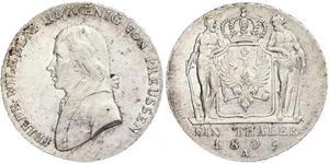 1 Талер Пруссия (королевство) (1701-1918) Серебро Фридрих Вильгельм III, король Пруссии (1770 -1840)