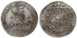 1 Талер Речь Посполитая (1569-1795) Серебро Сигизмунд III