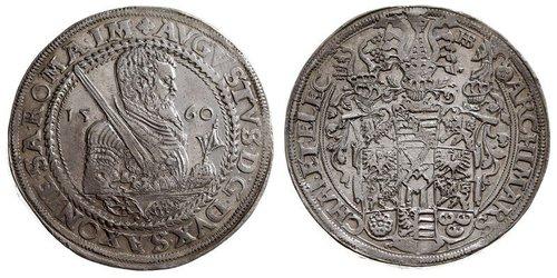 1 Талер Саксония (курфюршество) (1356 - 1806) Серебро