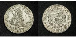 1 Талер Священная Римская империя (962-1806) Серебро Ferdinand II, Holy Roman Emperor  (1578 -1637)