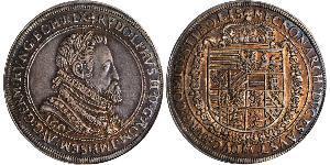 1 Талер Священная Римская империя (962-1806) Серебро Рудольф II (1552 - 1612)