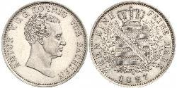 1 Талер Федеральные земли Германии Серебро