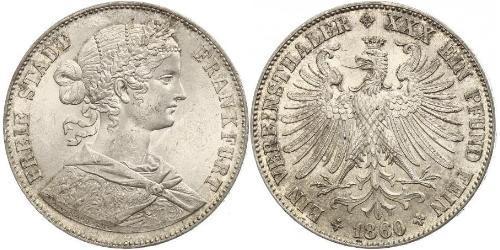 1 Талер Федеральные земли Германии / Германия Серебро