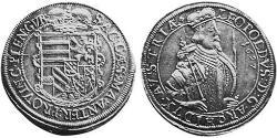 1 Талер Эльзас Серебро Леопольд V Австрийский (1586 – 1632)