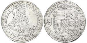 1 Талер Эльзас Серебро Фердинанд II, эрцгерцог Австрийский (1529 – 1595)
