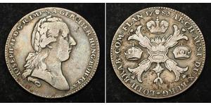 1 Талер Австрійська імперія (1804-1867) Срібло
