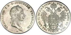 1 Талер Австрійська імперія (1804-1867) Срібло Francis II, Holy Roman Emperor (1768 - 1835)