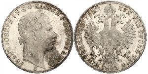 1 Талер Австрійська імперія (1804-1867) Срібло Франц Иосиф I (1830 - 1916)