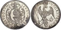 1 Талер Аугсбург (1276 - 1803) Срібло Фердинанд II Габсбург(1578 -1637)