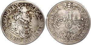 1 Талер Аугсбург (1276 - 1803) Срібло Ferdinand III, Holy Roman Emperor (1608-1657)