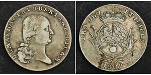 1 Талер Баварія (курфюрство) (1623 - 1806) Срібло