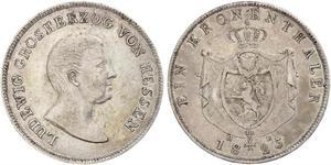 1 Талер Великое герцогство Гессен (1806 - 1918) Срібло Людвіг I Гессенський