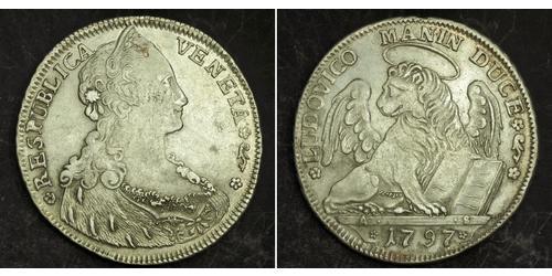 1 Талер Венеціанська республіка (697—1797) / Italian city-states Срібло