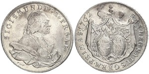 1 Талер Габсбурзька імперія (1526-1804) Срібло Sigismund von Schrattenbach