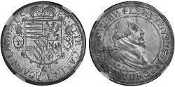 1 Талер Ельзас Срібло Leopold V, Archduke of Austria  (1586 – 1632)
