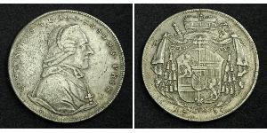 1 Талер Зальцбург Срібло Count Hieronymus von Colloredo (1732 - 1812)
